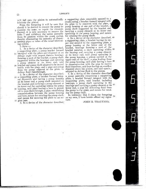 Patent # 2