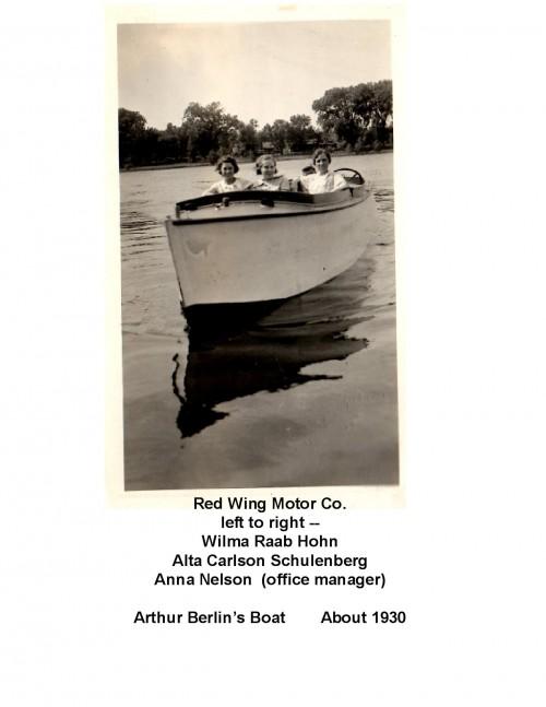 Art Berlin's Boat & Women